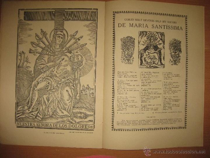 Libros antiguos: ARXIU DE TRADICIONS POPULARS. VALERI SERRA I BOLDU. BARCELONA FASCICLE VI. - Foto 2 - 44853533