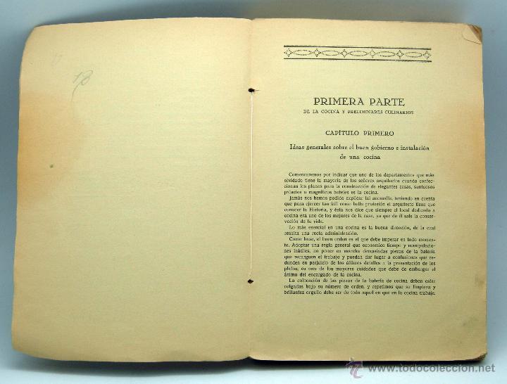 Libros antiguos: La Nueva Cocina Elegante Española Ignacio Domenech Tratado práctico Tip Bonet Quintilla y Cardona - Foto 2 - 44931613
