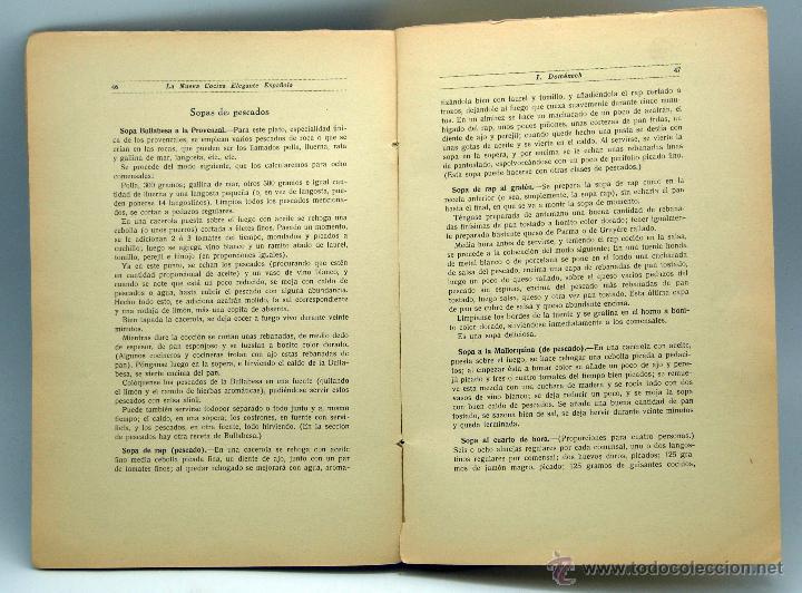 Libros antiguos: La Nueva Cocina Elegante Española Ignacio Domenech Tratado práctico Tip Bonet Quintilla y Cardona - Foto 3 - 44931613