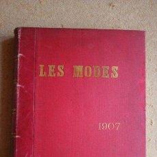 Libros antiguos: LES MODES. PARIS, LONDRES, BERLIN, NEW-YORK. Nº 73, JANVIER 1907, A Nº 84, DÉCEMBRE 1907.. Lote 44952499