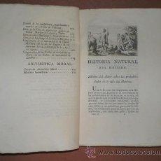 Libros antiguos: BUFFON, CONDE DE: HISTORIA NATURAL, GENERAL Y PARTICULAR ... TOMO VI. MADRID 1788. Lote 44952972