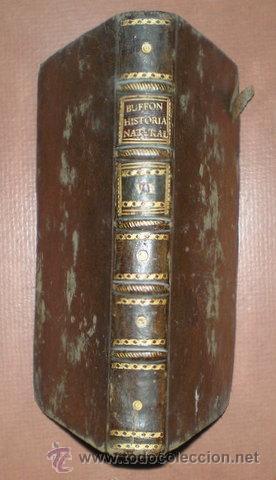 BUFFON, CONDE DE: HISTORIA NATURAL, GENERAL Y PARTICULAR ... TOMO VI. MADRID 1788 (Libros Antiguos, Raros y Curiosos - Ciencias, Manuales y Oficios - Otros)