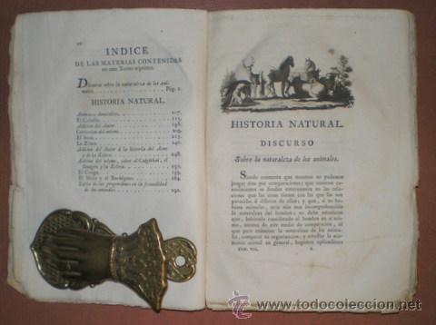 Libros antiguos: BUFFON, Conde de: HISTORIA NATURAL, GENERAL Y PARTICULAR ... Tomo VII. Madrid 1798 - Foto 3 - 44953709
