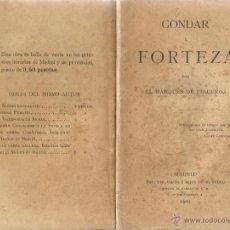 Libros antiguos: MARQUÉS DE FIGUEROA. GONDAR Y FORTEZA. RM66231-V. . Lote 44968250