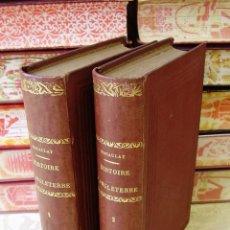Libros antiguos: HISTOIRE D'ANGLETERRE, DEPUIS L'AVENEMENT DE JACQUES II ( 2 VOLS ) . . Lote 44972626