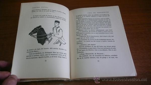 Libros antiguos: COPA DE HORIZONTES. CONCHA ESPINA. 1930. PRIMERA EDICIÓN. ILUSTRADO. - Foto 3 - 45065420