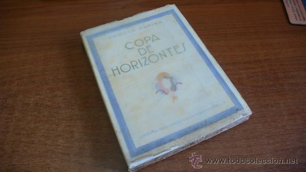 Libros antiguos: COPA DE HORIZONTES. CONCHA ESPINA. 1930. PRIMERA EDICIÓN. ILUSTRADO. - Foto 7 - 45065420