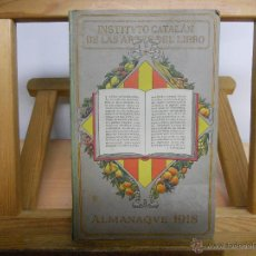 Libros antiguos: INSTITUTO CATALAN DE LAS ARTES DEL LIBRO.-. Lote 45111236