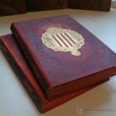 Libros antiguos: ESPAÑA SUS MONUMENTOS Y ARTES, SU NATURALEZA É HISTORIA. CATALUÑA TOMO I Y II. 1884.. Lote 45182191