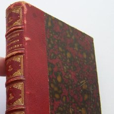Libros antiguos: LE BONHEUR ET L´ARGENT SUIVI DE LE SERMENT DE JEAN MACLOU 1884. Lote 45217311