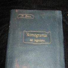Livros antigos: NOMOGRAMAS DEL INGENIERO - R. SECO - 1911. Lote 45266598