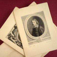 Libros antiguos: OBRA GRABADA DE ROBERT NANTEUIL. ESTUCHE CON 234 LÁMINAS. 1925. Lote 45274673