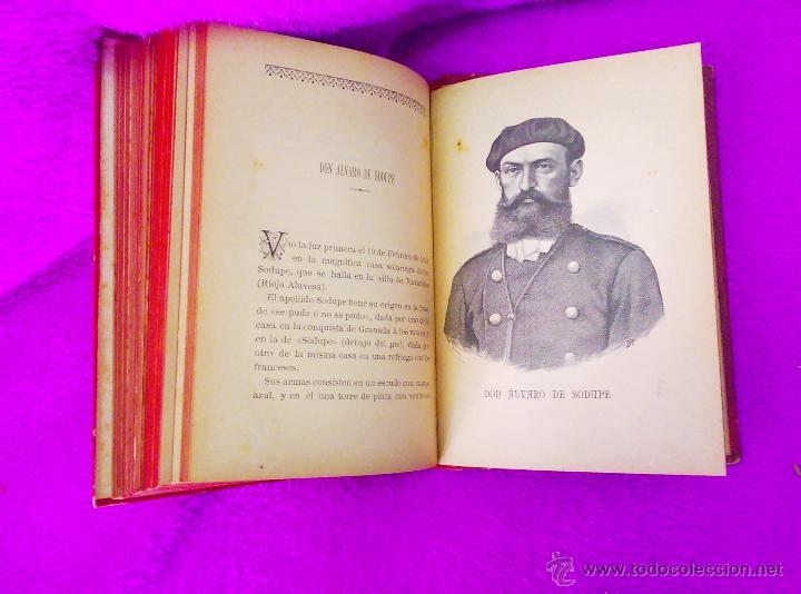 Libros antiguos: ALBUM DE PERSONAJES CARLISTAS, D. F DE P. O. 1887-1890 - Foto 5 - 45290204