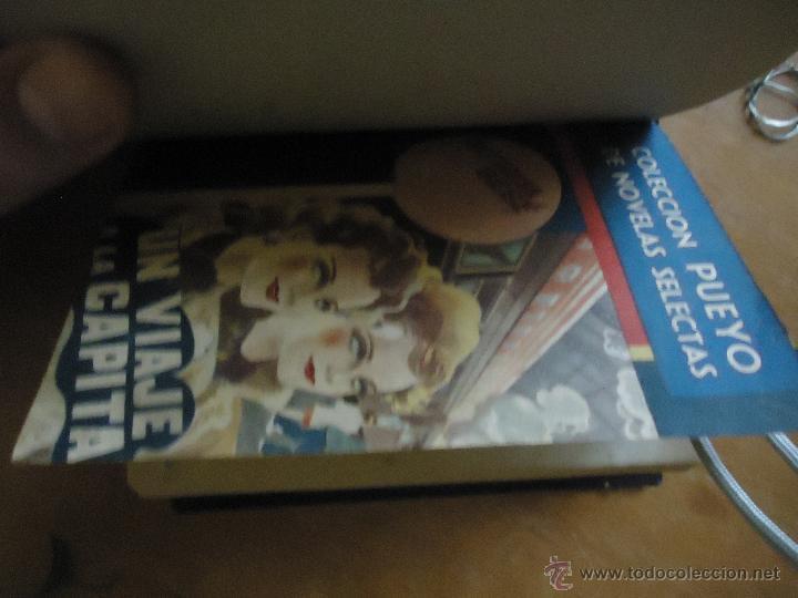 Libros antiguos: ANTIGUO TOMO COLECCION PUEYO - UN VIAJE A LA CAPITAL - TODO ACABA BIEN - PASAJES DE UNA VIDA - - Foto 2 - 45339483