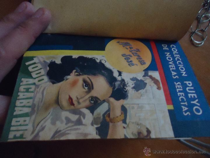 Libros antiguos: ANTIGUO TOMO COLECCION PUEYO - UN VIAJE A LA CAPITAL - TODO ACABA BIEN - PASAJES DE UNA VIDA - - Foto 5 - 45339483