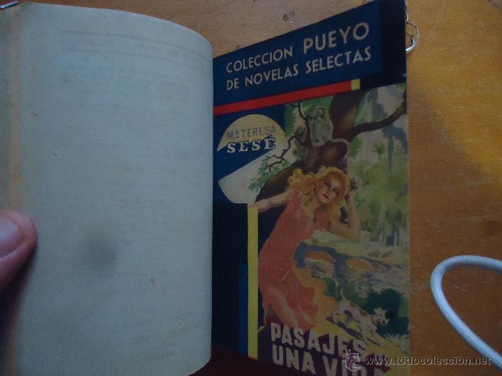 Libros antiguos: ANTIGUO TOMO COLECCION PUEYO - UN VIAJE A LA CAPITAL - TODO ACABA BIEN - PASAJES DE UNA VIDA - - Foto 7 - 45339483