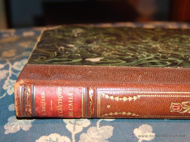 Libros antiguos: LIBRO: LE CANTIQUE DE LAILE.EDMOND ROSTAND.POÈMES. - Foto 2 - 45356684