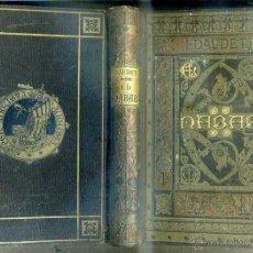 Libros antiguos: DAUDET : EL NABAB (ARTE Y LETRAS, 1882) ILUSTRACIONES DE PELLICER. Lote 45422995