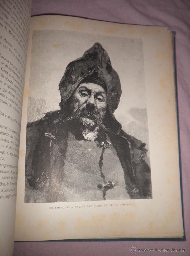 Libros antiguos: RUSIA · NUESTROS ALIADOS - AÑO 1897 - MONUMENTAL OBRA ILUSTRADA. - Foto 5 - 45455241
