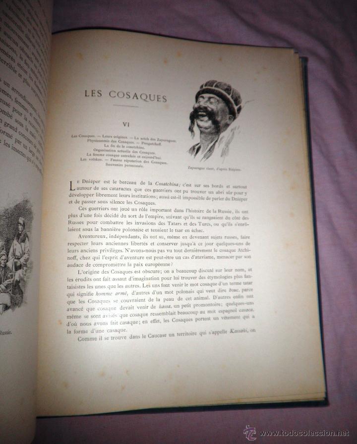 Libros antiguos: RUSIA · NUESTROS ALIADOS - AÑO 1897 - MONUMENTAL OBRA ILUSTRADA. - Foto 6 - 45455241