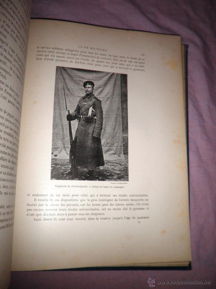 Libros antiguos: RUSIA · NUESTROS ALIADOS - AÑO 1897 - MONUMENTAL OBRA ILUSTRADA. - Foto 10 - 45455241