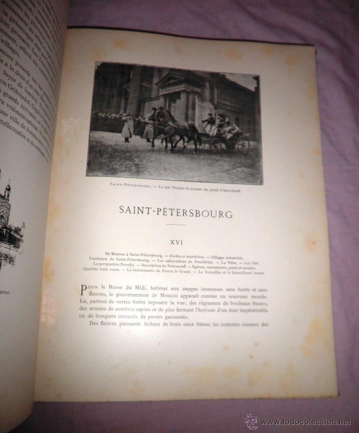 Libros antiguos: RUSIA · NUESTROS ALIADOS - AÑO 1897 - MONUMENTAL OBRA ILUSTRADA. - Foto 13 - 45455241