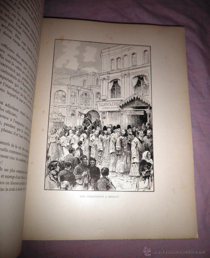 Libros antiguos: RUSIA · NUESTROS ALIADOS - AÑO 1897 - MONUMENTAL OBRA ILUSTRADA. - Foto 14 - 45455241