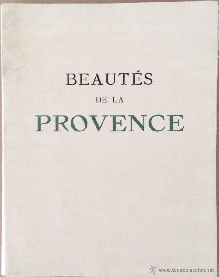 Libros antiguos: BEAUTES DE LA PROVENCE 50 GRABADOS DE VALENTINE DUPRÉ EDICION DE BIBLIOFILO 1933 - Foto 2 - 45462692