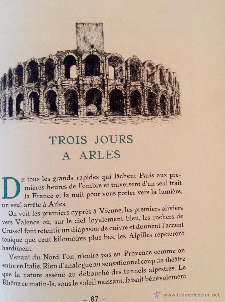 Libros antiguos: BEAUTES DE LA PROVENCE 50 GRABADOS DE VALENTINE DUPRÉ EDICION DE BIBLIOFILO 1933 - Foto 5 - 45462692
