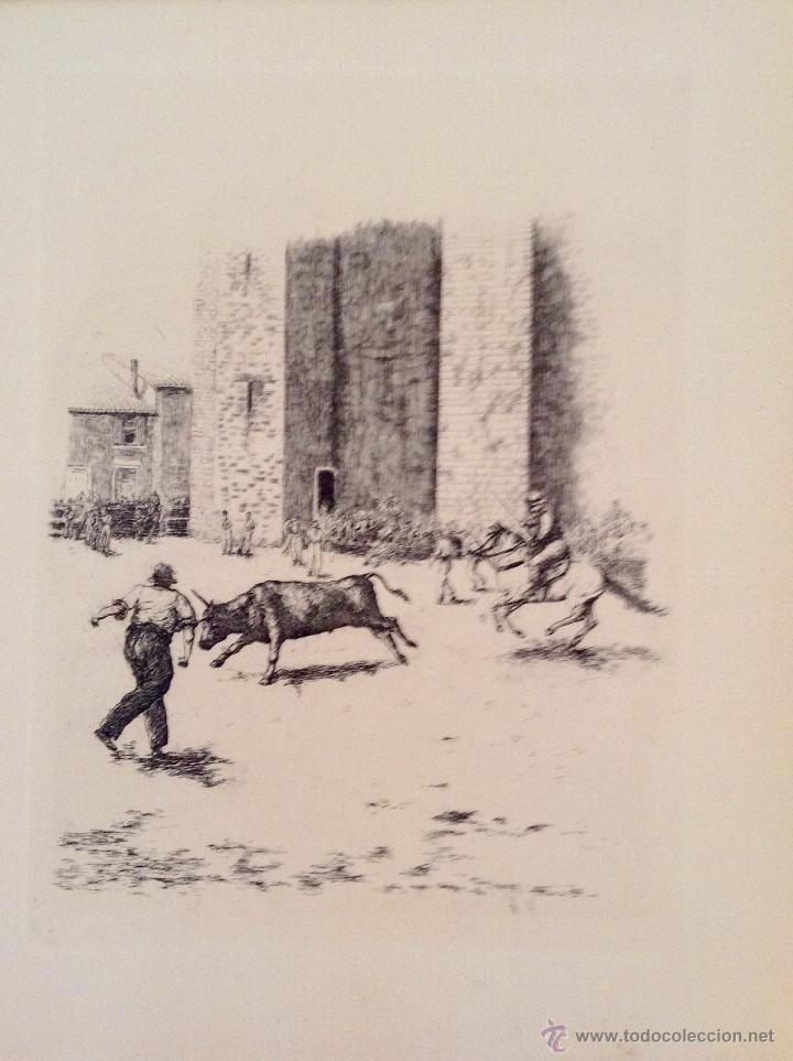 Libros antiguos: BEAUTES DE LA PROVENCE 50 GRABADOS DE VALENTINE DUPRÉ EDICION DE BIBLIOFILO 1933 - Foto 8 - 45462692