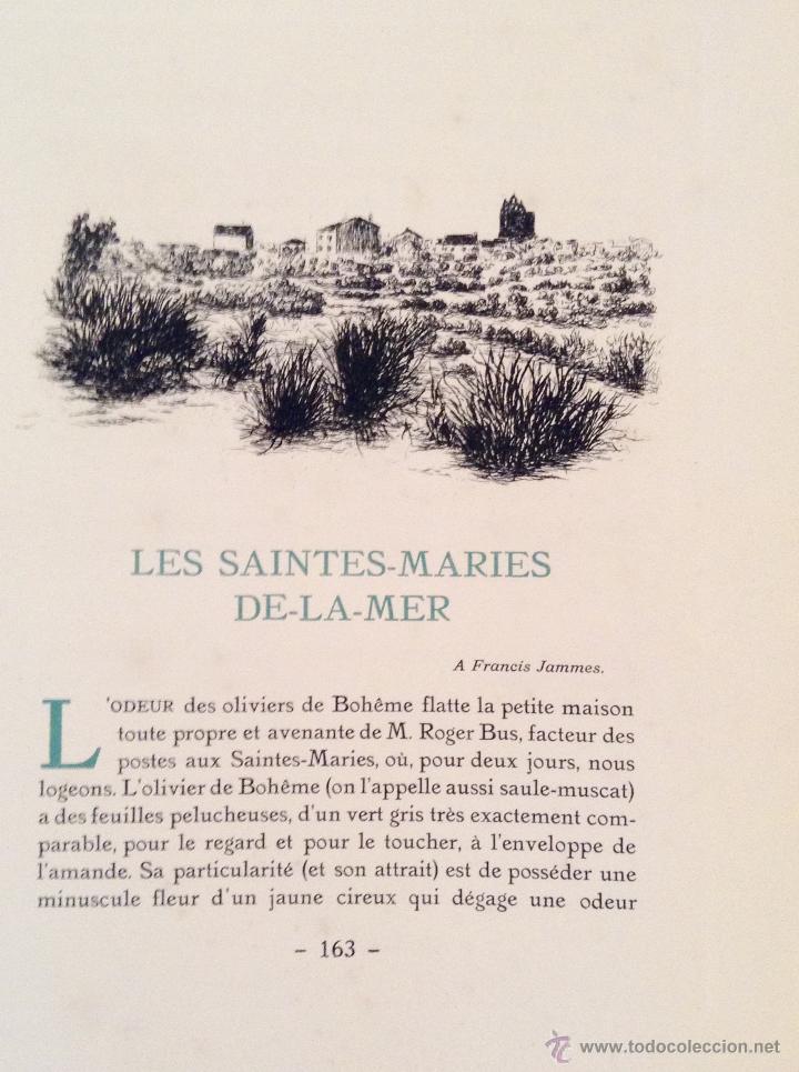 Libros antiguos: BEAUTES DE LA PROVENCE 50 GRABADOS DE VALENTINE DUPRÉ EDICION DE BIBLIOFILO 1933 - Foto 9 - 45462692