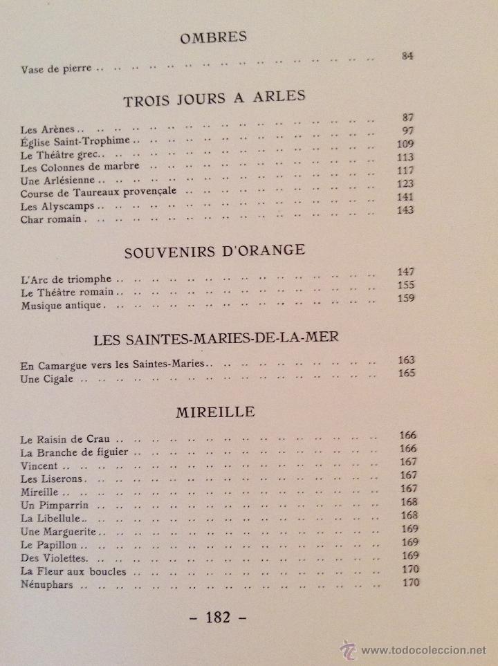 Libros antiguos: BEAUTES DE LA PROVENCE 50 GRABADOS DE VALENTINE DUPRÉ EDICION DE BIBLIOFILO 1933 - Foto 11 - 45462692