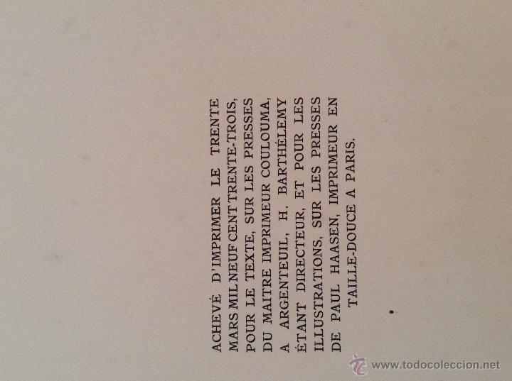 Libros antiguos: BEAUTES DE LA PROVENCE 50 GRABADOS DE VALENTINE DUPRÉ EDICION DE BIBLIOFILO 1933 - Foto 13 - 45462692