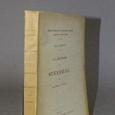Libros antiguos: 1919 - PAUL ARBELET - LA JUVENTUD DE STENDHAL - PARIS-MILAN 1799 - 1802. Lote 45476658