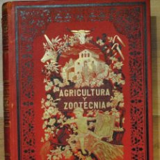 Libros antiguos: AGRICULTURA Y ZOOTECNIA, NOVISIMO TRATADO TEÓRICO PRÁCTICO, JOAQUIN RIBERA, 5 TMS, BCN F.NACENTE. Lote 45505732