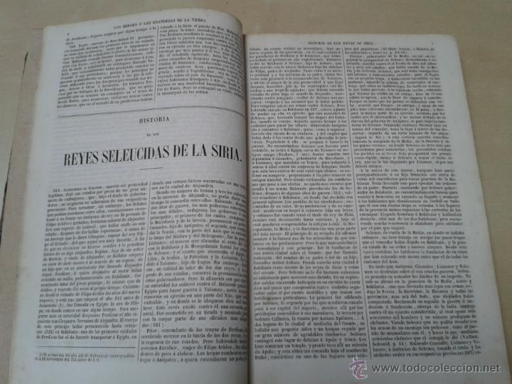 Libros antiguos: LOS HÉROES Y LAS GRANDEZAS DE LA TIERRA, 8 TOMOS. AÑO 1854 - Foto 28 - 45573799