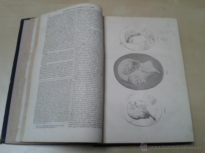 Libros antiguos: LOS HÉROES Y LAS GRANDEZAS DE LA TIERRA, 8 TOMOS. AÑO 1854 - Foto 41 - 45573799