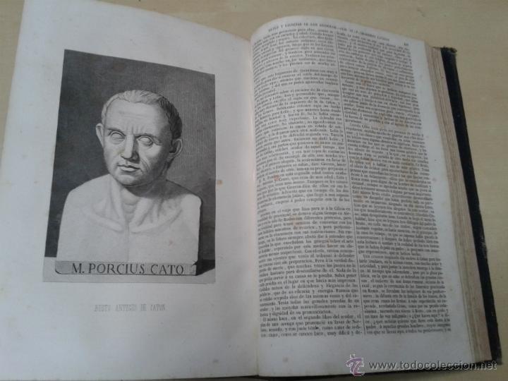 Libros antiguos: LOS HÉROES Y LAS GRANDEZAS DE LA TIERRA, 8 TOMOS. AÑO 1854 - Foto 43 - 45573799