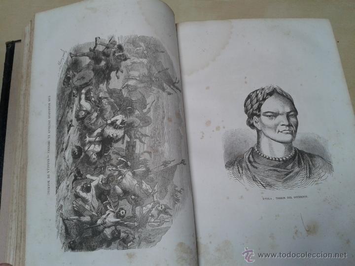 Libros antiguos: LOS HÉROES Y LAS GRANDEZAS DE LA TIERRA, 8 TOMOS. AÑO 1854 - Foto 55 - 45573799