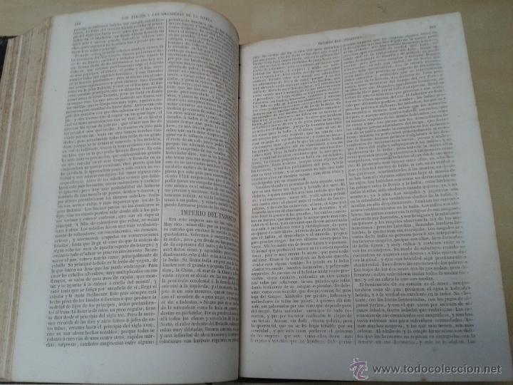 Libros antiguos: LOS HÉROES Y LAS GRANDEZAS DE LA TIERRA, 8 TOMOS. AÑO 1854 - Foto 56 - 45573799