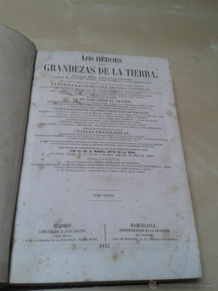Libros antiguos: LOS HÉROES Y LAS GRANDEZAS DE LA TIERRA, 8 TOMOS. AÑO 1854 - Foto 66 - 45573799