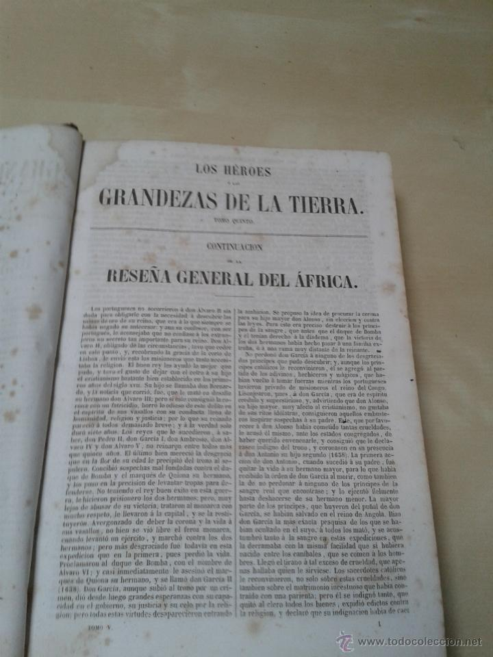 Libros antiguos: LOS HÉROES Y LAS GRANDEZAS DE LA TIERRA, 8 TOMOS. AÑO 1854 - Foto 67 - 45573799