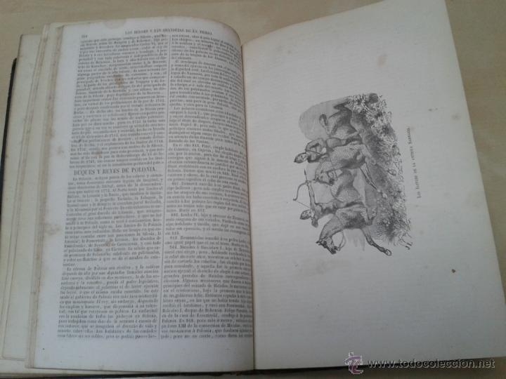 Libros antiguos: LOS HÉROES Y LAS GRANDEZAS DE LA TIERRA, 8 TOMOS. AÑO 1854 - Foto 70 - 45573799