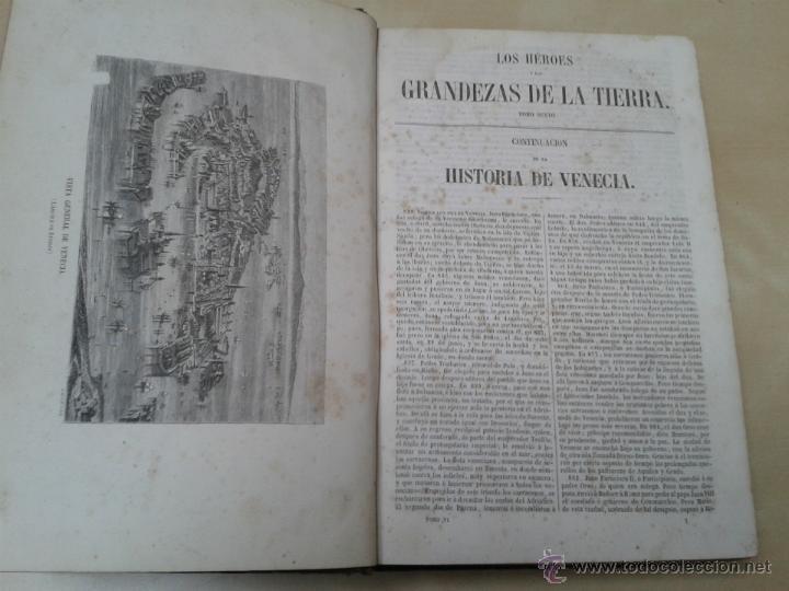Libros antiguos: LOS HÉROES Y LAS GRANDEZAS DE LA TIERRA, 8 TOMOS. AÑO 1854 - Foto 82 - 45573799