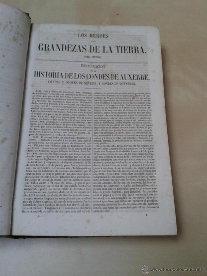 Libros antiguos: LOS HÉROES Y LAS GRANDEZAS DE LA TIERRA, 8 TOMOS. AÑO 1854 - Foto 97 - 45573799
