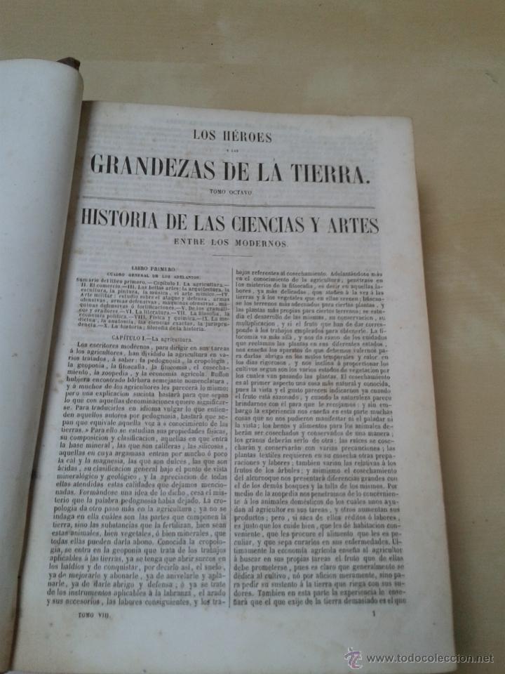 Libros antiguos: LOS HÉROES Y LAS GRANDEZAS DE LA TIERRA, 8 TOMOS. AÑO 1854 - Foto 111 - 45573799