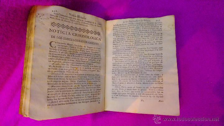 Libros antiguos: COMPENDIO HISTORICO GEOGRAFICO, Y GENEALOGICO DE LOS SOBERANOS DE EUROPA, D. MANUEL TRINCADO 1766 - Foto 3 - 45651145