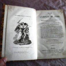 Libros antiguos: ENSAYO SOBRE EL EMPLEO DEL TIEMPO - AÑO 1829 - M.A.JULLIEN - MUY RARO.. Lote 45734133