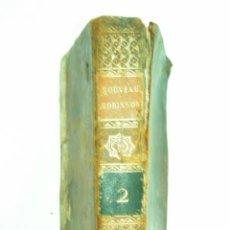 Libros antiguos: LIBRO- LE NOUVEAU ROBINSON- TOMO II- AÑO 1809- 18 GRABADOS FUERA DE TEXTO. Lote 45755328