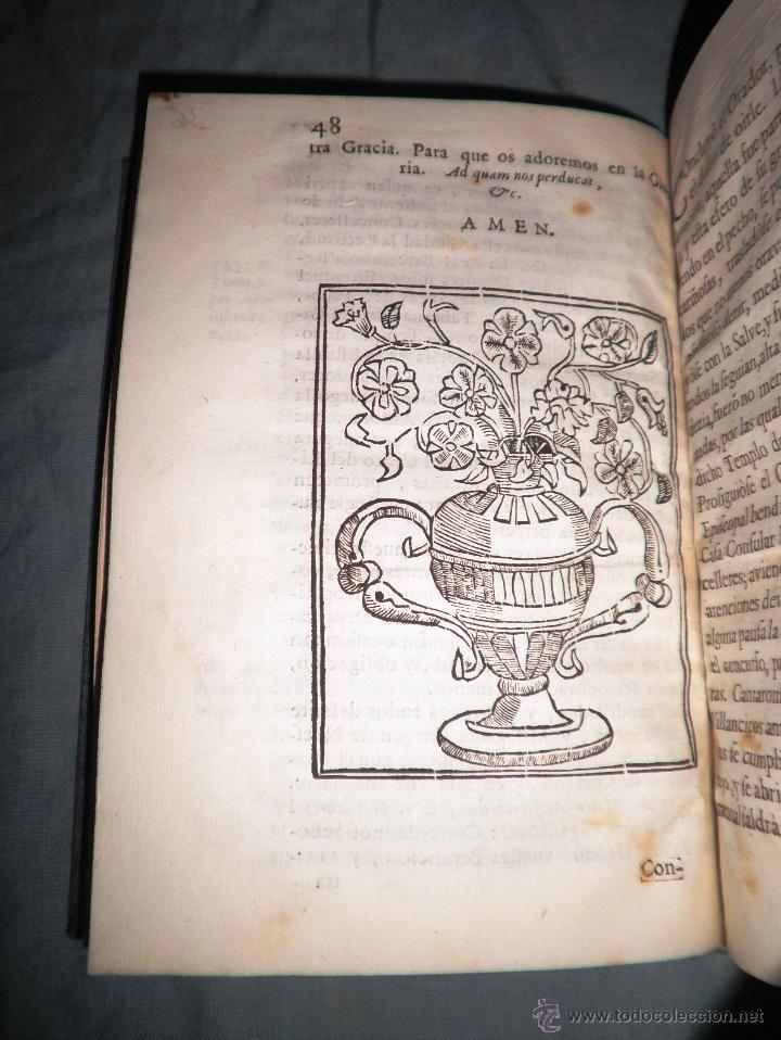 Libros antiguos: FESTIVOS Y MAGESTUOSOS CULTOS - AÑO 1686 - BARCELONA - MUY RARO. - Foto 5 - 45800754